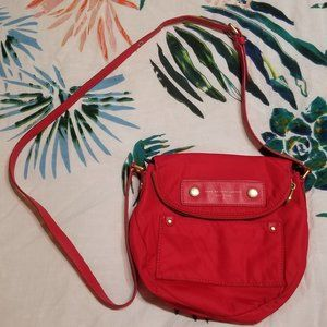 Marc Jacobs red nylon crossbody